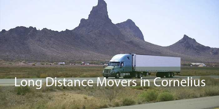 Long Distance Movers in Cornelius